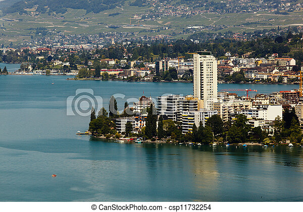 geneva lake view - csp11732254