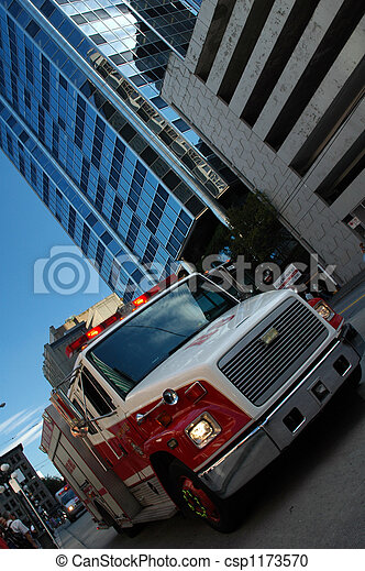 Emergency Vehicle - csp1173570