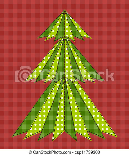 Christmas tree for scrapbooking 5 - csp11739300