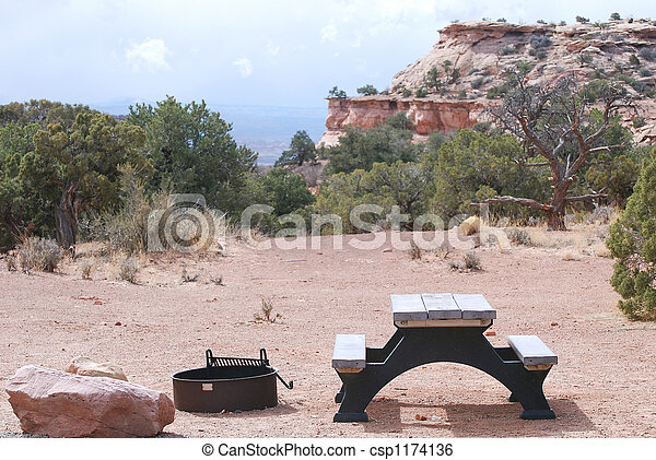 Canyonlands campground - csp1174136