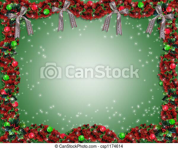 Weihnachten Girlande