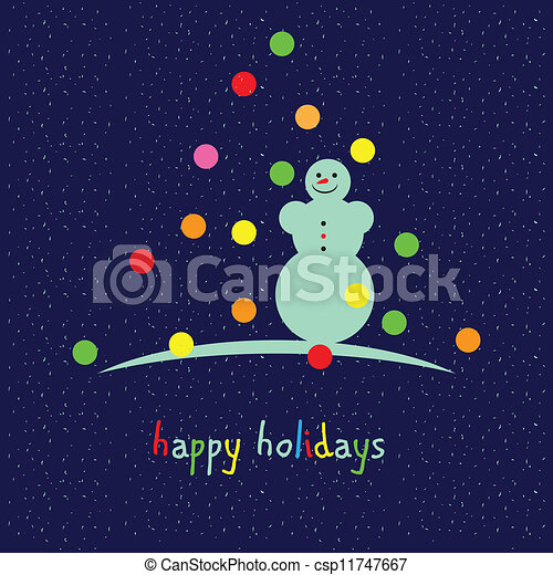 Happy holidays - csp11747667