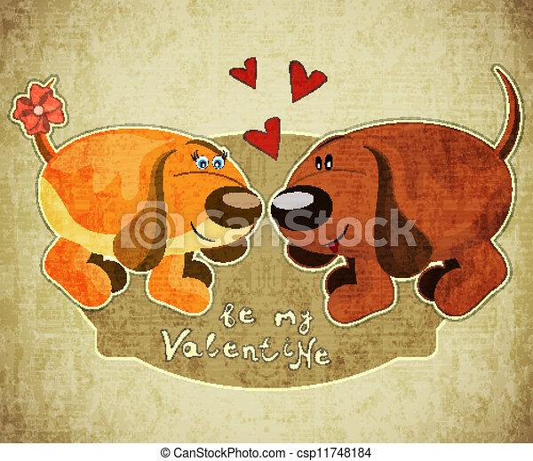 Valentines Day Card - csp11748184