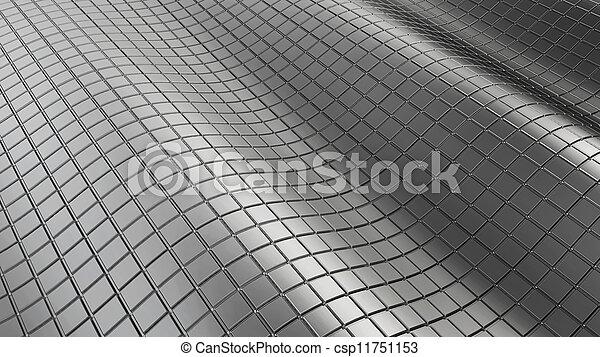 chrom, abstrakt, hintergrund - csp11751153