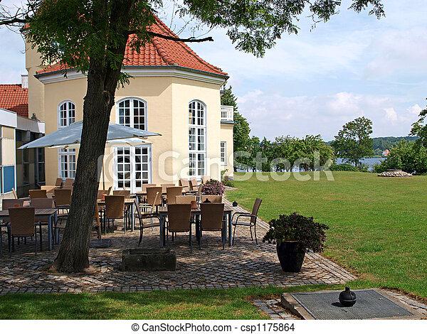 Classical country side hotel Funen Denmark
