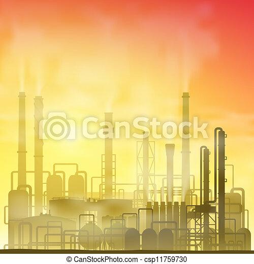 Industrial Plant - csp11759730