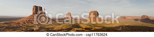overview of Monument Valley