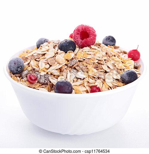 Stock de fotos de taz n cereales bayas frutas for Tazon cereales