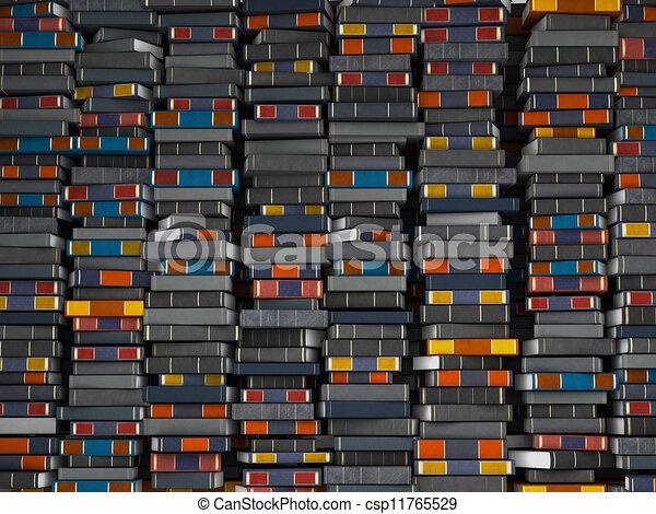 clip art de mur livres beaucoup livres empil dans mur csp11765529 recherchez des. Black Bedroom Furniture Sets. Home Design Ideas