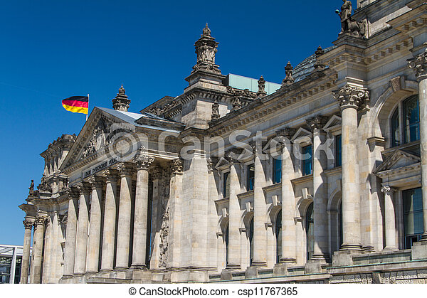 Berlin Government District - csp11767365