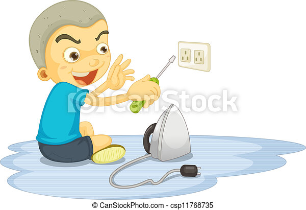 Electricity Safety Clipart