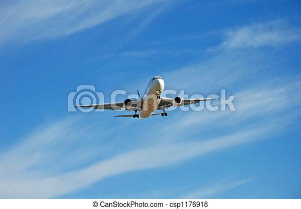 Jet Plane Landing - csp1176918