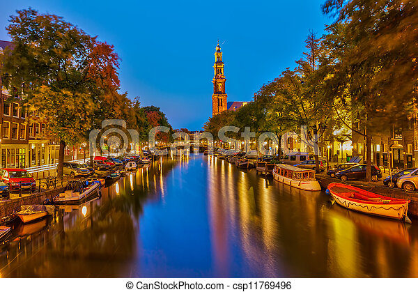 Western church in Amsterdam - csp11769496