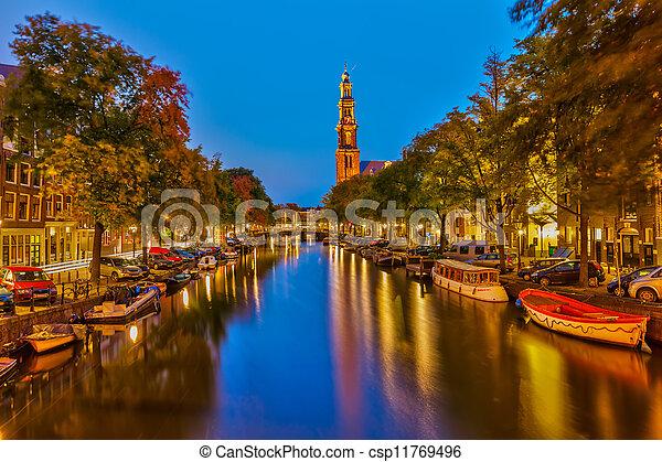 Western church in Amsterdam - csp11769496