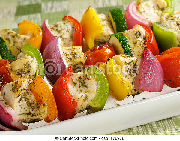 Healthy Chicken Kabobs - csp1176976