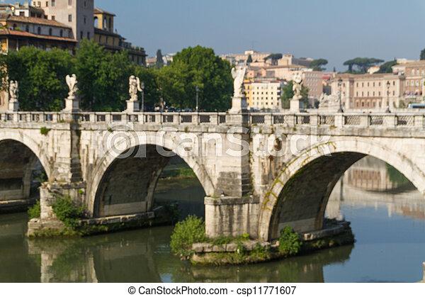 Rome bridges - csp11771607