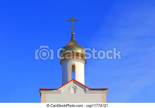 Landmark cossack village in South Russia - csp11774121