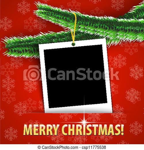 christmas card frames templates