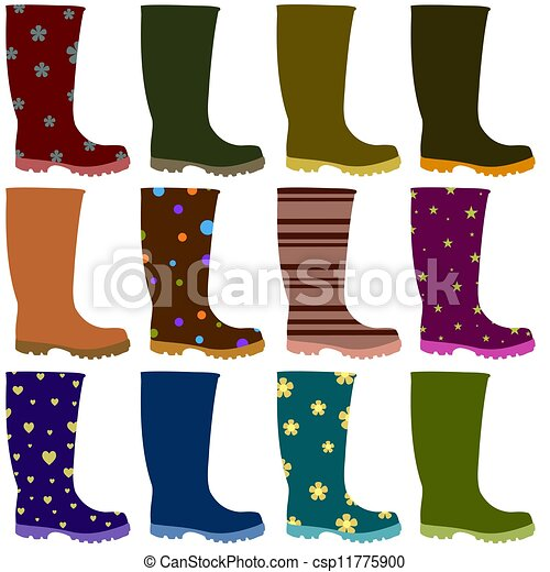 Girl shoes clipart