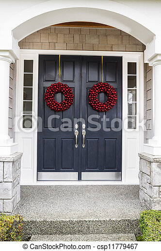 Holiday Home Door - csp11779467