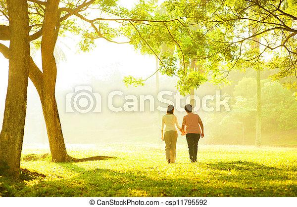 Senior adult healthcare - csp11795592