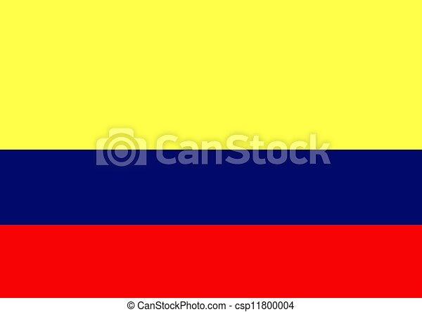 Colombia Flag - csp11800004