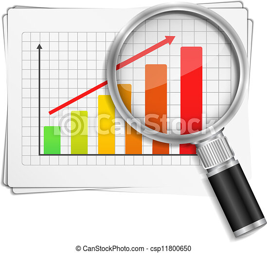 Bar Graph Clipart Vector