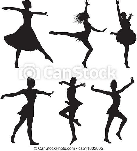 Danse Silhouette Femme 11802865