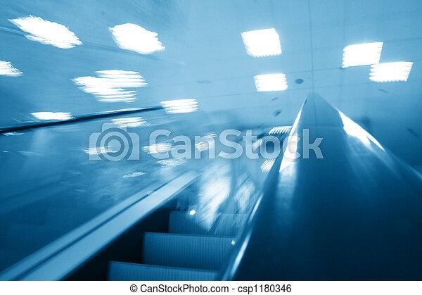 transportation escalator - csp1180346