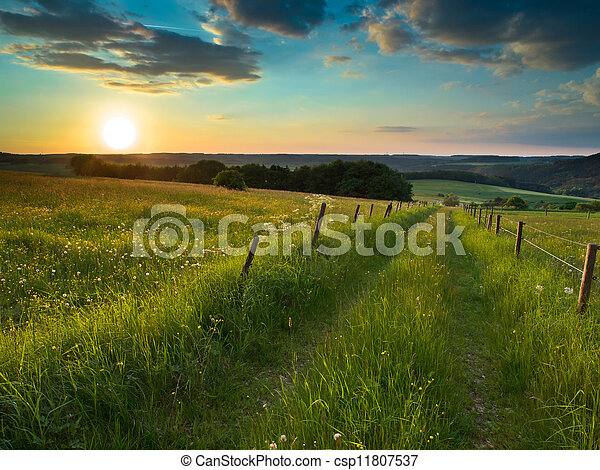sunset trail - csp11807537