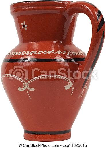 Antique Red jug  - csp11825015