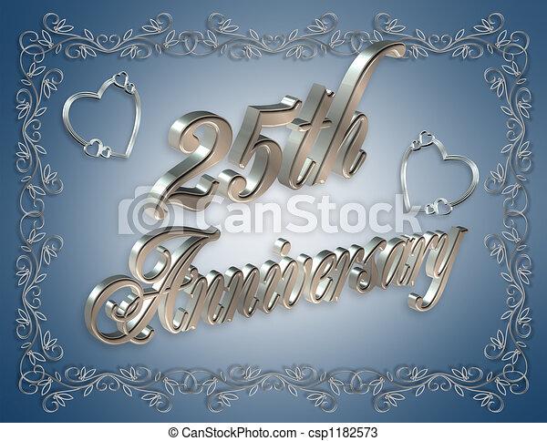 dessins de bleu  25e  anniversaire illustration 25th Anniversary Backgrounds 25th Anniversary Graphics