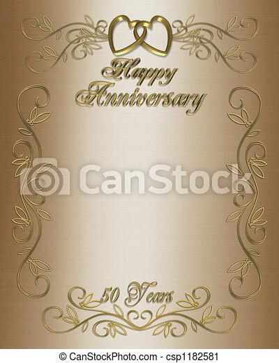 50th Anniversary - csp1182581
