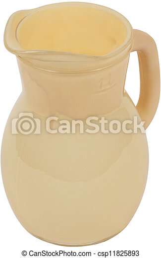 Antique Pottery jug - csp11825893