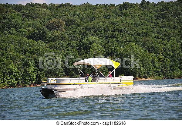 Boating In Indiana USA - csp1182618