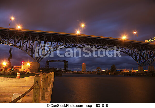 Bridges of Cleveland - csp11831018