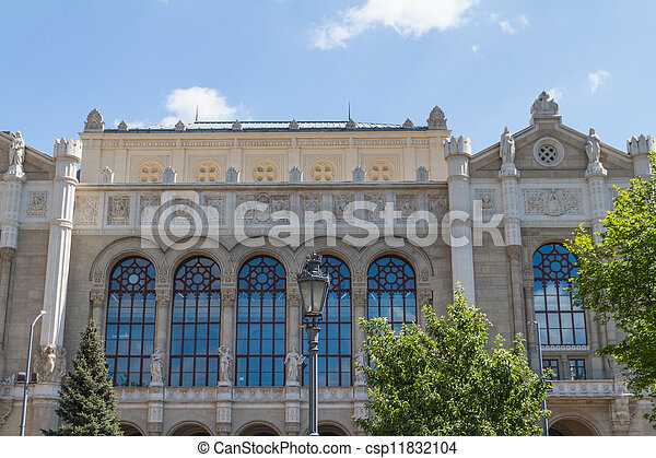 view of landmarks in Budapest - csp11832104