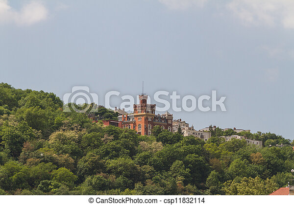 view of landmarks in Budapest - csp11832114
