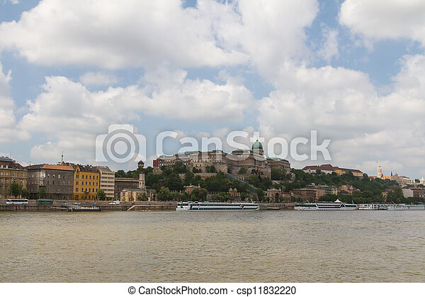 view of landmarks in Budapest - csp11832220