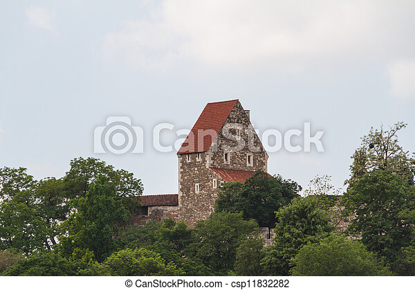 view of landmarks in Budapest - csp11832282