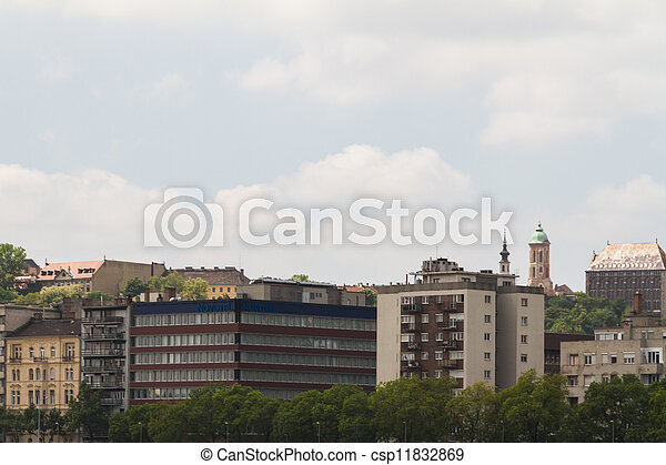 view of landmarks in Budapest - csp11832869