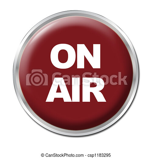 On Air Button - csp1183295