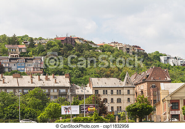 view of landmarks in Budapest - csp11832956
