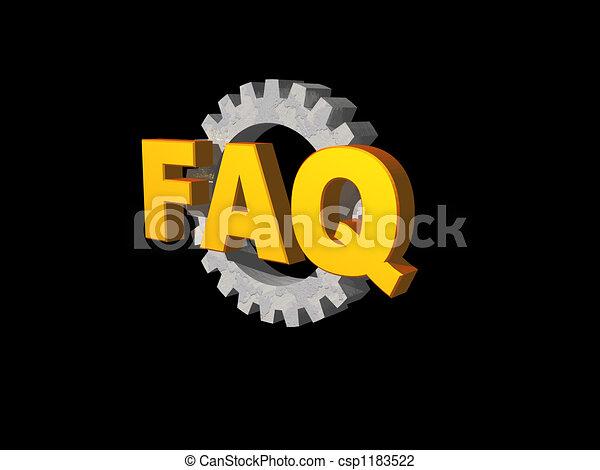 faq - csp1183522