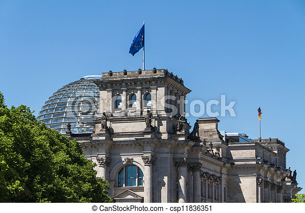 Berlin Government District - csp11836351