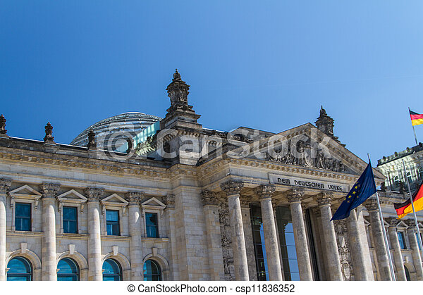 Berlin Government District - csp11836352