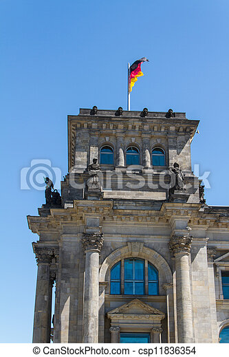 Berlin Government District - csp11836354