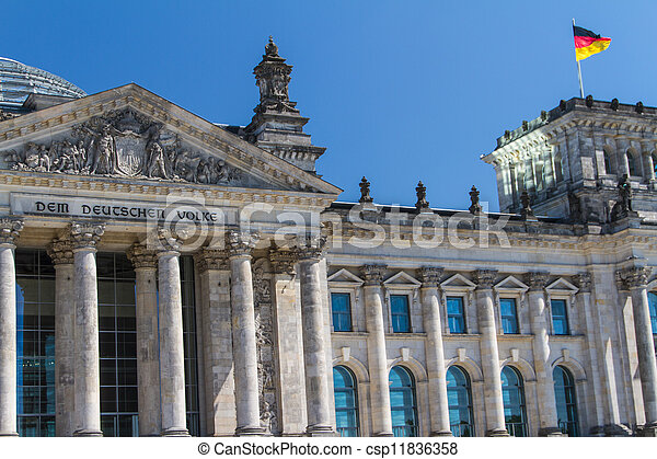 Berlin Government District - csp11836358