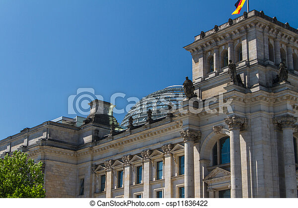 Berlin Government District - csp11836422