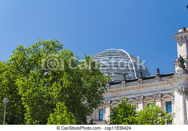 Berlin Government District - csp11836424